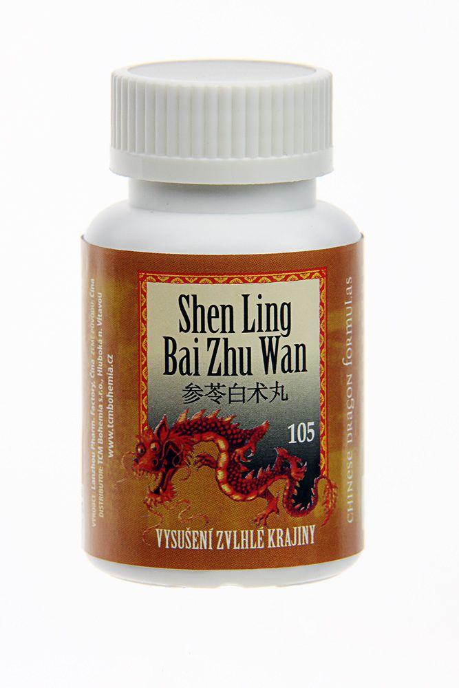 105 SHEN LING BAI ZHU WAN - VYSUŠENIE ZVLHNUTEJ KRAJINY